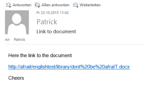 Send link of document via mail (en)_4