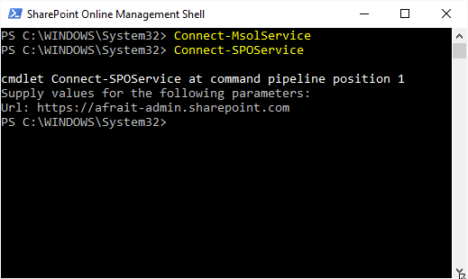 Connect to SharePoint Service
