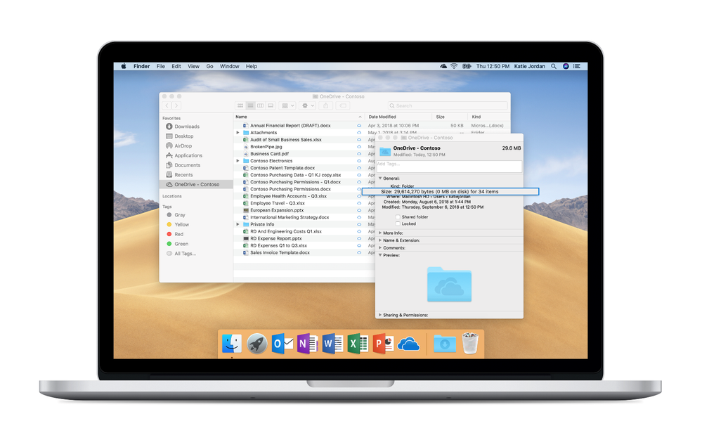 OneDrive Files On-Demand on Mac