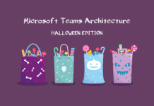 Microsoft Teams Architecture Halloween Banner 2020