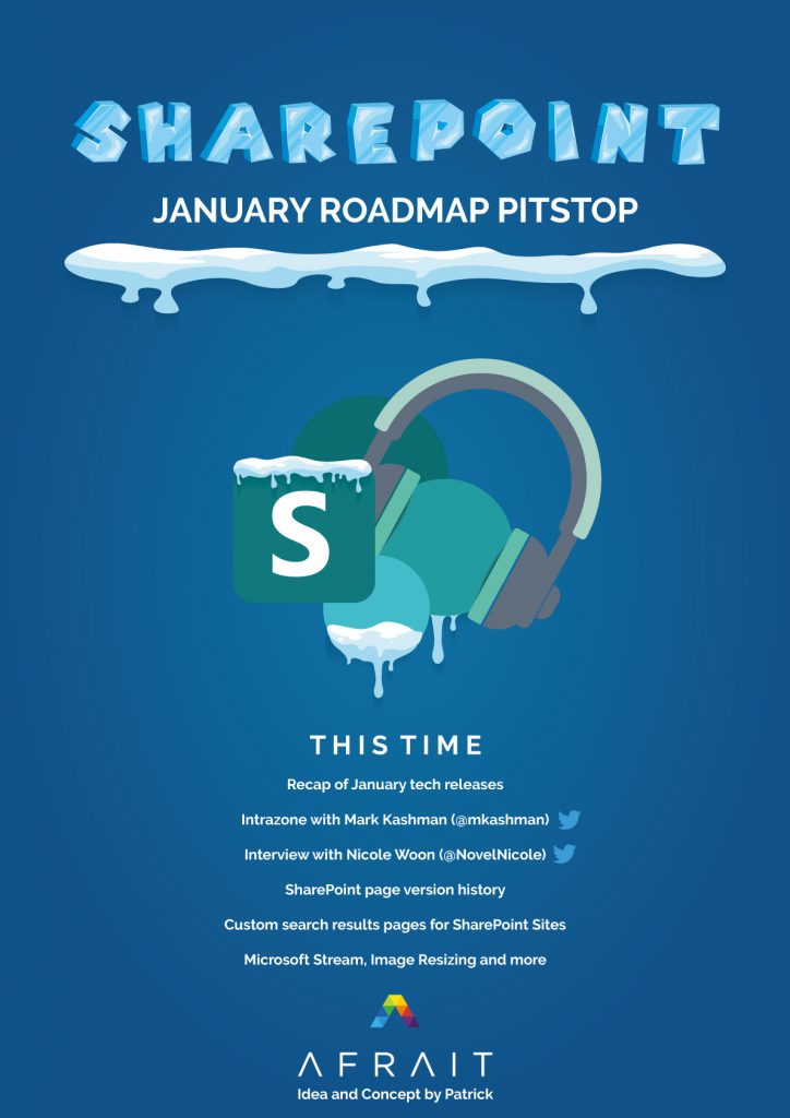 SharePoint Roadmap Pitstop January 2020
