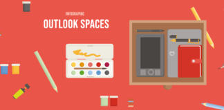 Outlook Spaces Banner